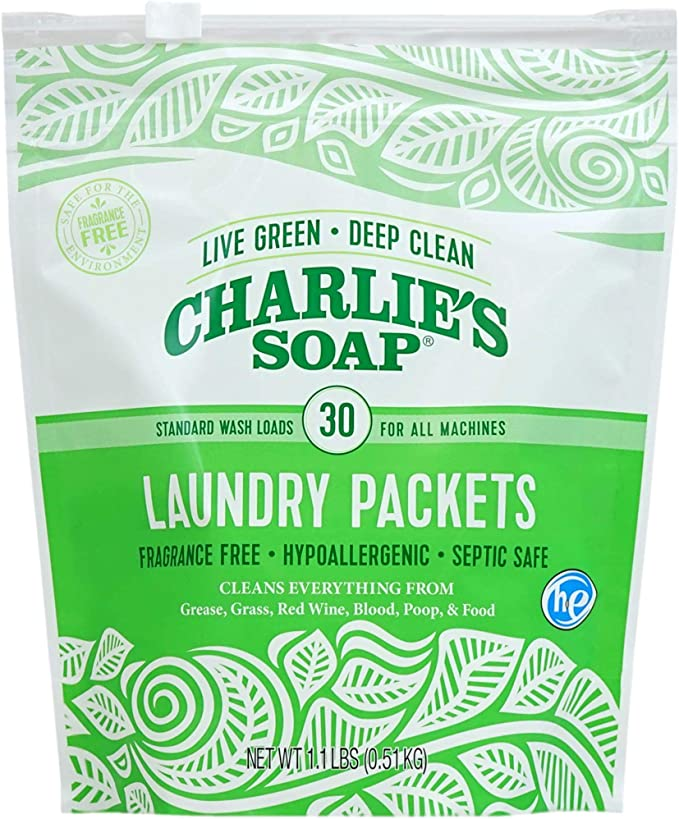 Charlie's Soap Fragrance Free Powdered Laundry Detergent