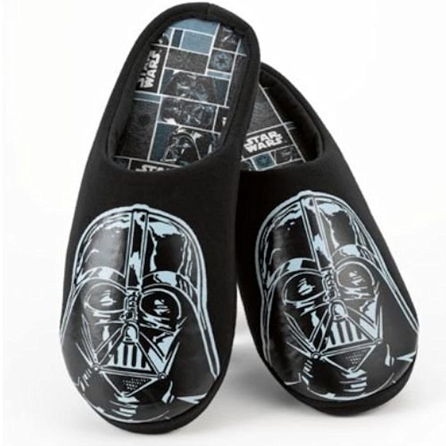 Men\'s Star Wars Darth Vader Slippers - Official Licensed Product ...