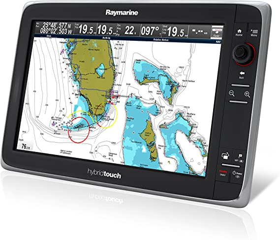 Raymarine E70025-Ceur Serie E E165 Híbrido Pantalla Táctil Multifunción con Cmap Europea Fundamentos K: Amazon.es: Electrónica