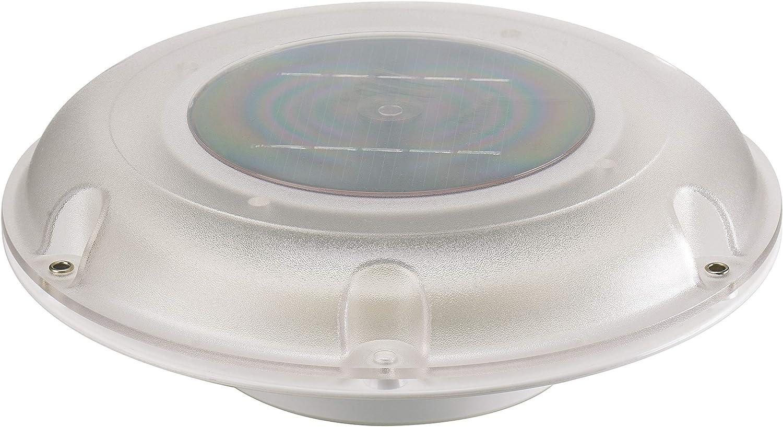 ARBO-INOX ® ventiladores Acero Inoxidable Deck lüfer Seta Ventilador techo Ventilador Motor ventilador Campana Ventilador Smart Solar Ventilador para Yates y camping tipo lechoso transparente: Amazon.es: Deportes y aire libre