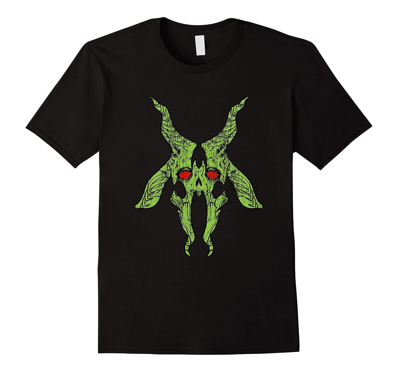 Baphomet Skull T-Shirt (HR)-ANZ