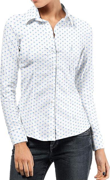PURO ARTE Camisa Mujer Love Talla S : Amazon.es: Ropa