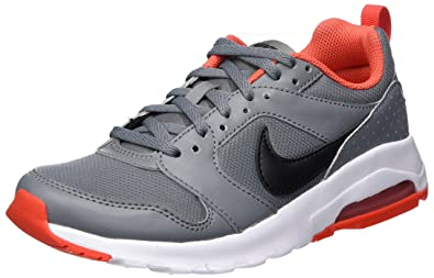 a0ae8fabcb Nike Kids Air Max Motion (GS) Cool Grey/Black Max Orange Running Shoe 5 Kids  US: Buy Online at Low Prices in India - Amazon.in