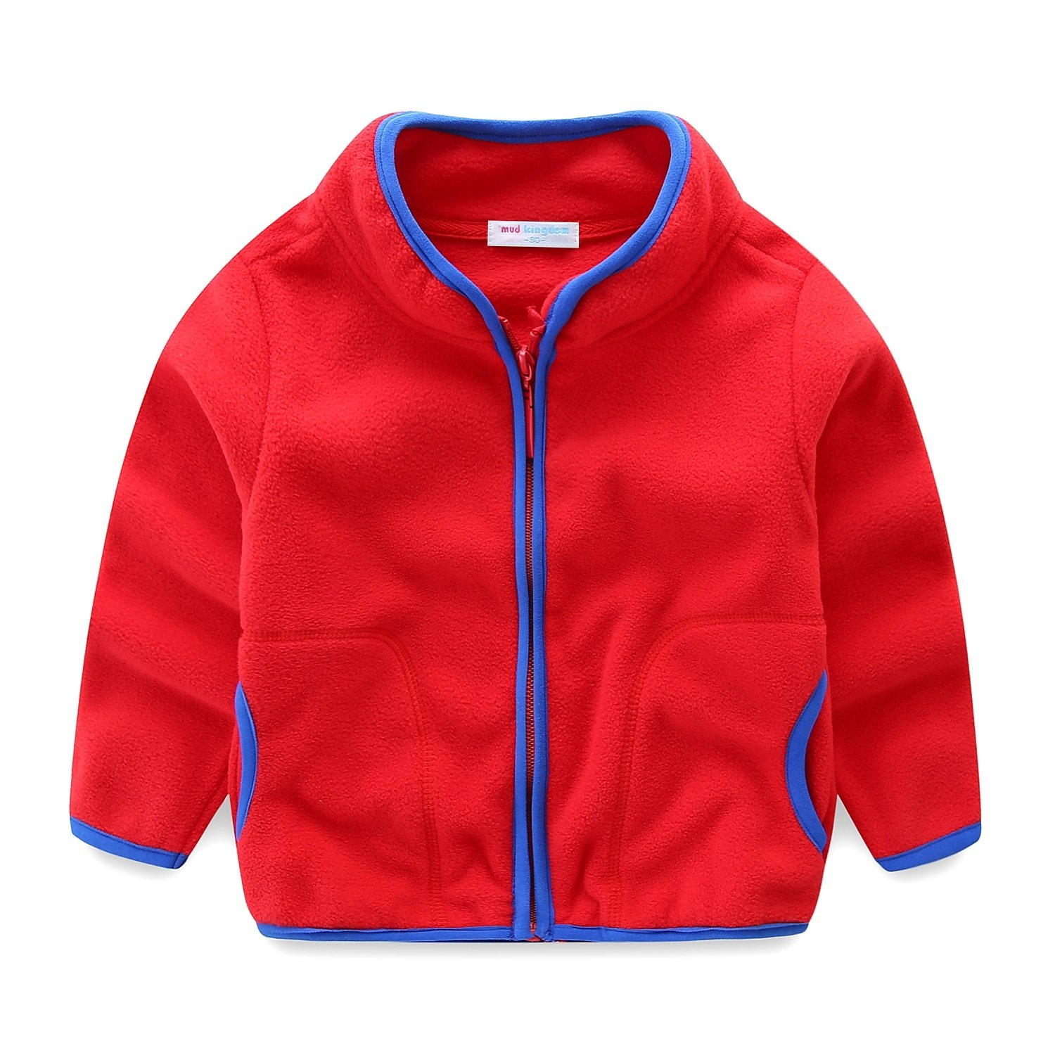 LittleSpring Little Boys' Coat Jacket Zipper SS-S0042m