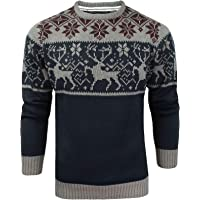 James Darby Mens Nordic Stag Festive Christmas Jumper
