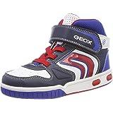 Geox Jr Gregg B, Sneaker a Collo Alto Bambino
