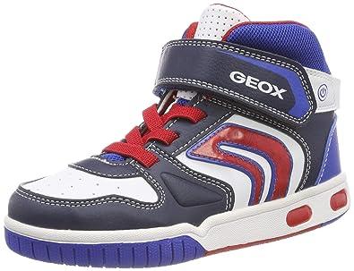 Geox Jr Gregg A, Sneaker a Collo Alto Bambino