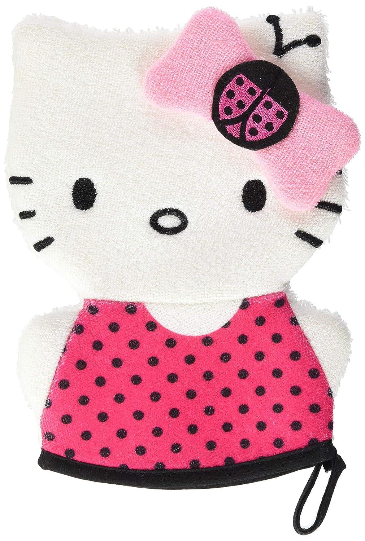 TINOKOU Gant de Toilette Marionnette Hello Kitty - Lot de 3 0888