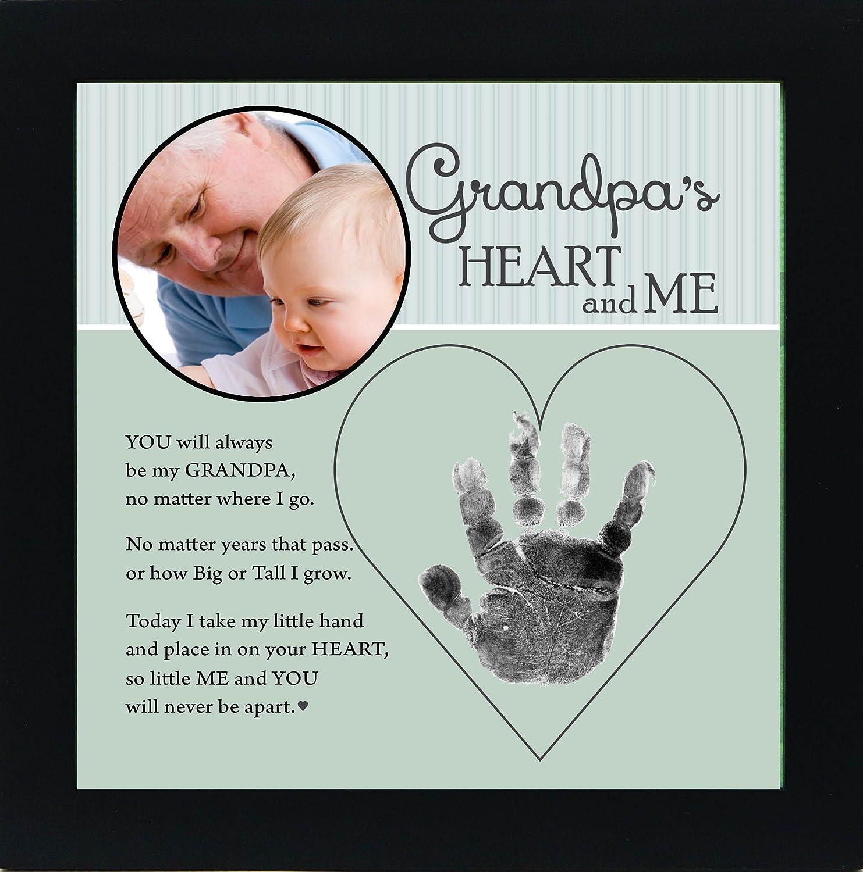 偉大な Baby Keepsake Child Keepsake Grandparent Handprint Frame Co. with Poetry - Mommy, Daddy, Grandma or Grandpa (Grandpa) by The Grandparent Gift Co. B00MNPUUW8, 騎西町:58b87a52 --- narvafouette.eu