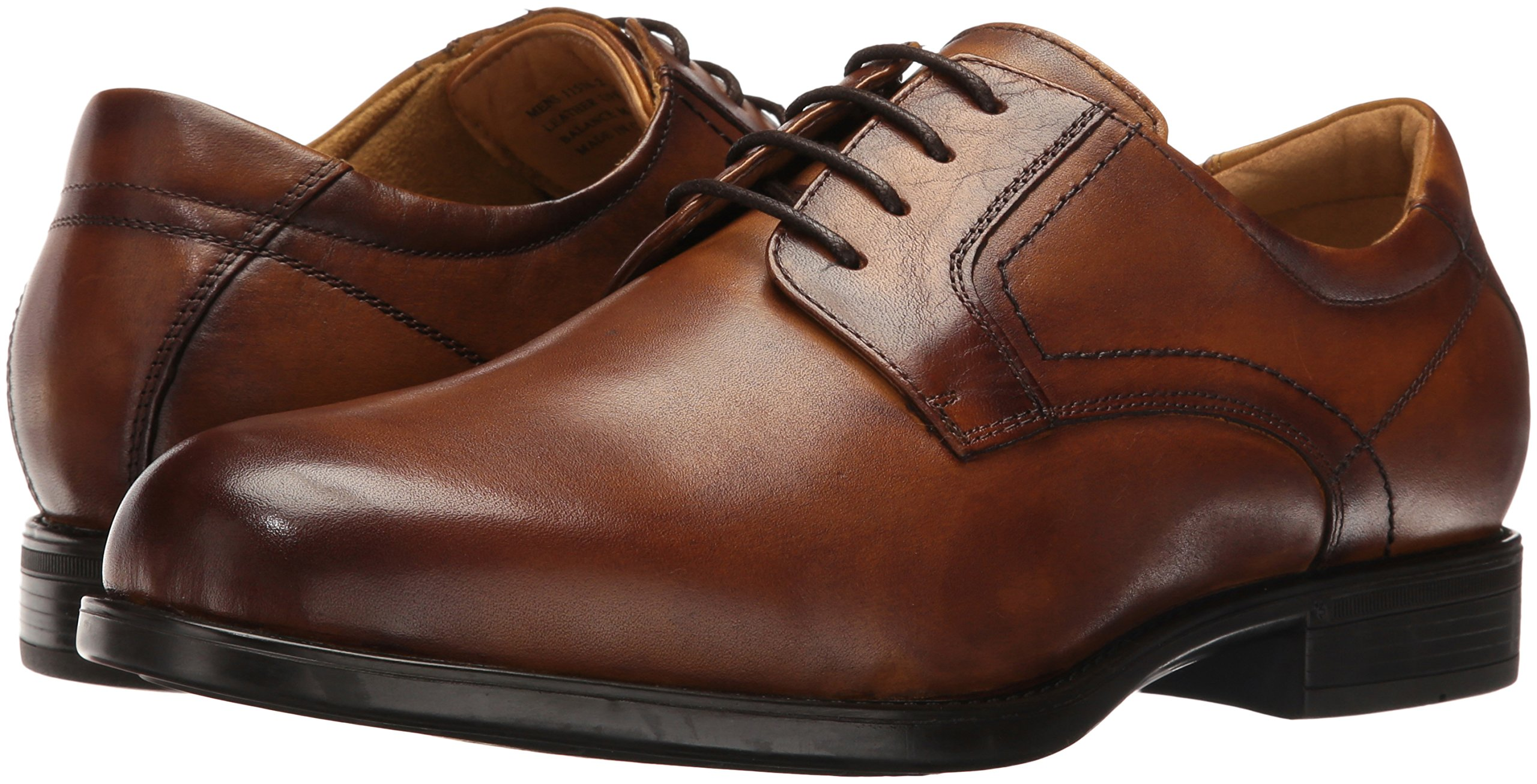 Florsheim Men's Medfield Plain Toe Oxford Dress Shoe, Cognac, 8 D US by Florsheim (Image #6)