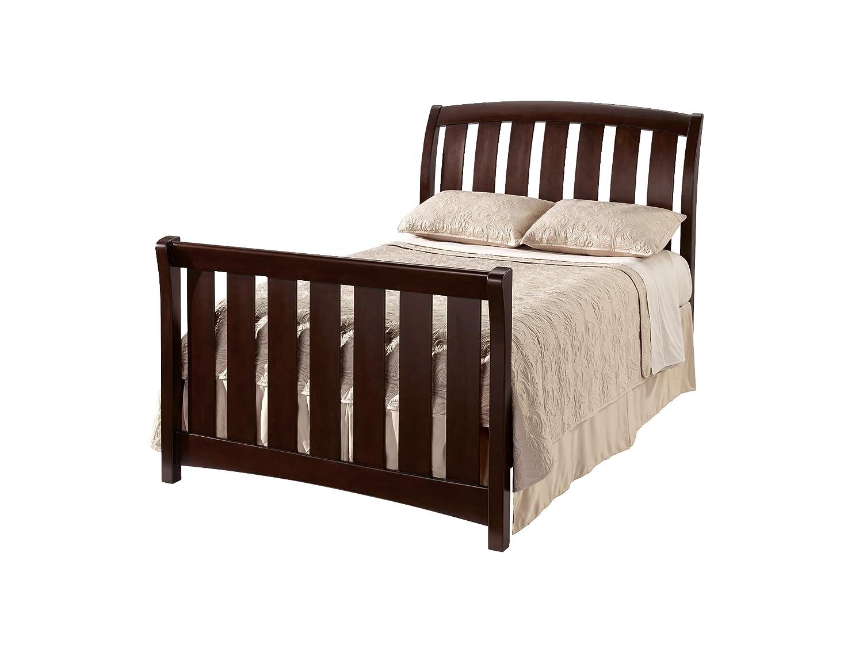 Amazon.com : Westwood Design Brookline Convertible Crib With Toddler Rail,  Chocolate Mist : Westwood Design Stratton Full Size Rails : Baby