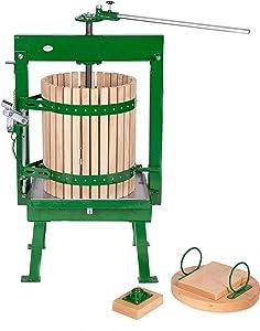 Big Dog 36 Liter (9.5 Gallon) Cross Beam Cider Press - Cider, Wine, Grape, Fruit Press, For Apple Cider, Wine and Juice Making, Choose Size by Montimax