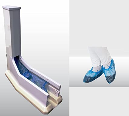 Automático dispensador con revestimiento de zapatos 100 gratis Überschuhe [móvil dispensador de überschuh automático –