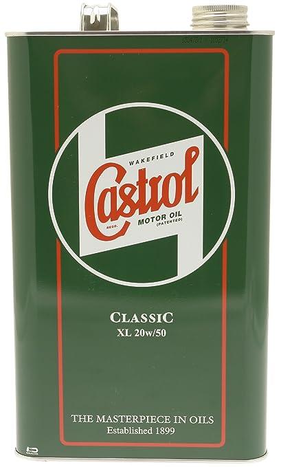 Castrol Classic 20W50 Aceite de motor, 4.54L