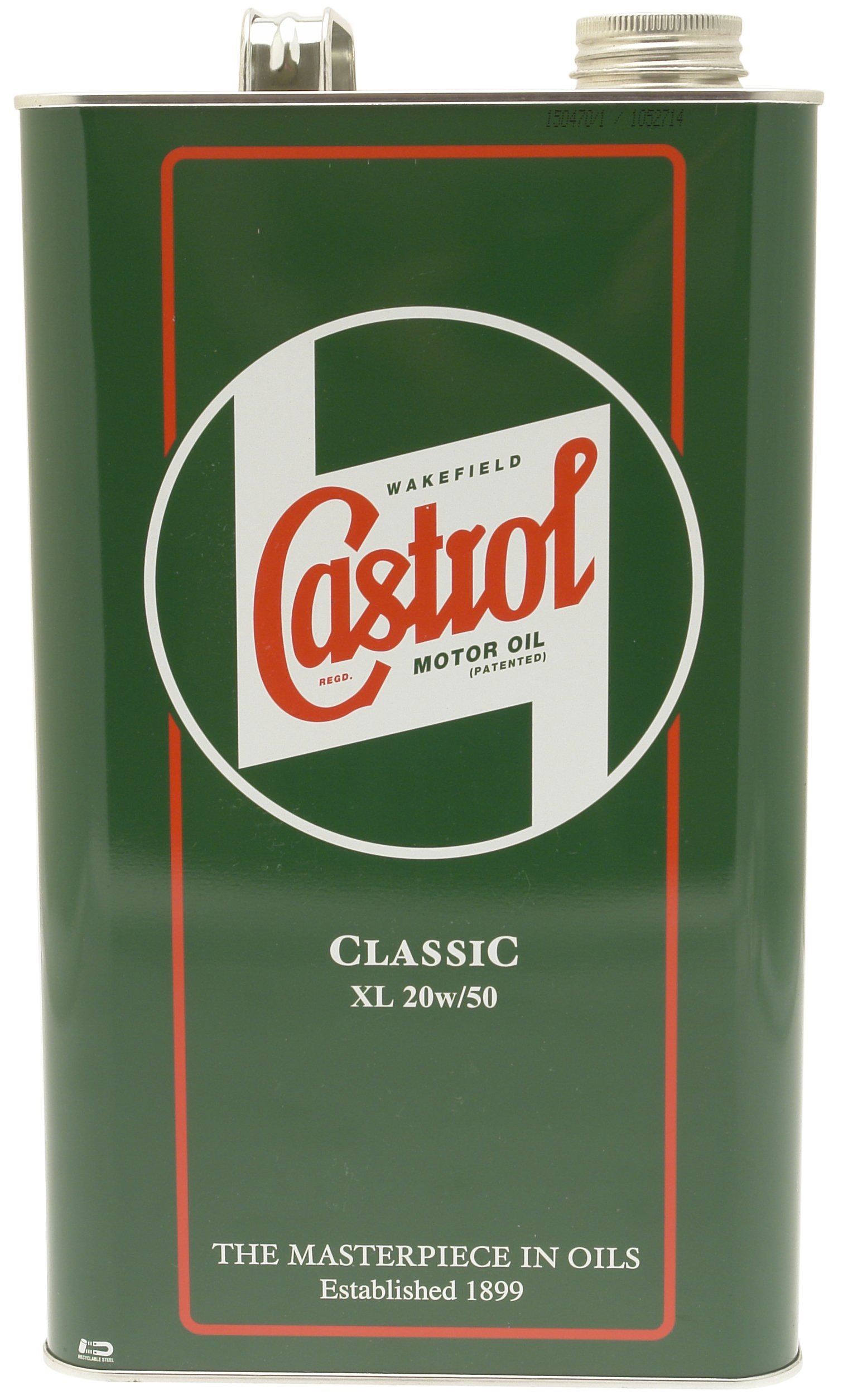 Castrol 1925A Classic 20W50 Oil, 4.54 Liter