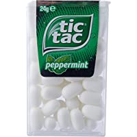Tic Tac Peppermint Mints, 24 x 24 Grams
