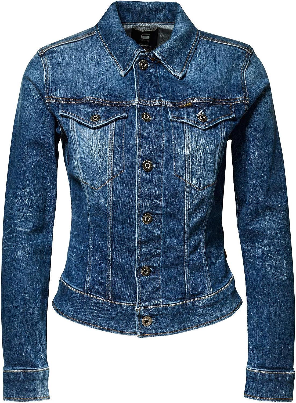 G-STAR RAW Damen 3301 Slim Jacket Jacke