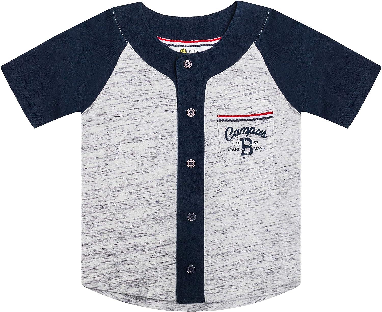 CERTONGCXTS Baby Boys Kids Patriotic Pitbull American Flag ComfortSoft Long Sleeve Tee