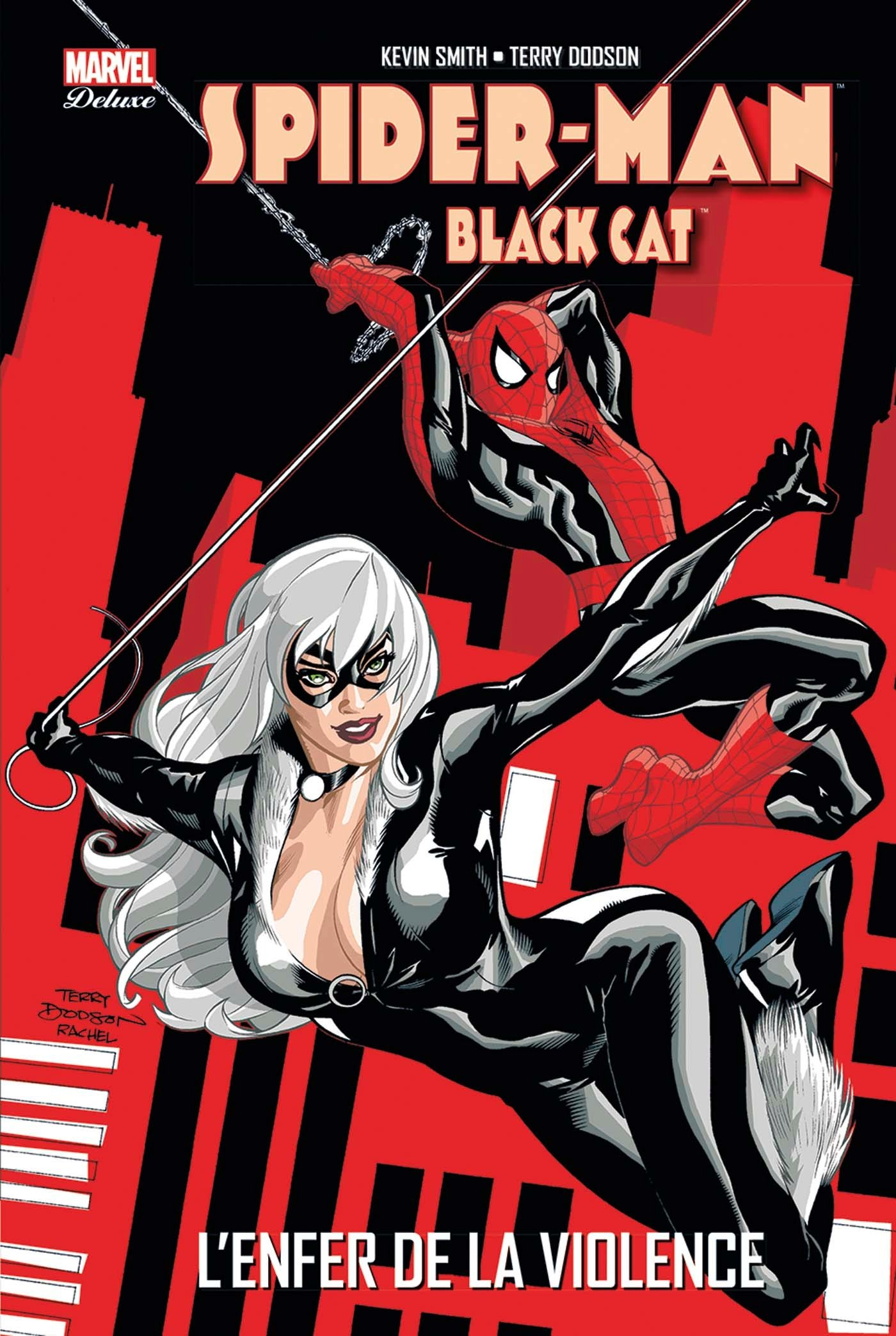 Spider Man chat noir sexe
