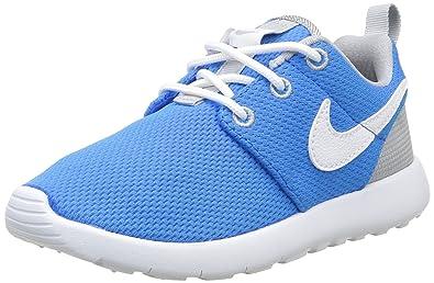 NIKE Jungen Roshe One Sneakers, Blau Grau, 29 EU: