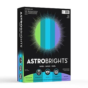 Astrobrights Color Paper, 8.5u201d X 11u201d, 24 Lb / 89 Gsm,