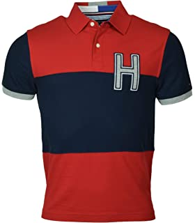48adb01b Tommy Hilfiger Men's Regular Fit Performance Pique Polo Shirt - XS ...