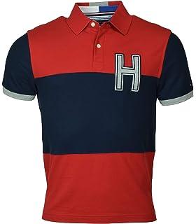 70e7334e Tommy Hilfiger Men's Regular Fit Performance Pique Polo Shirt - XS ...