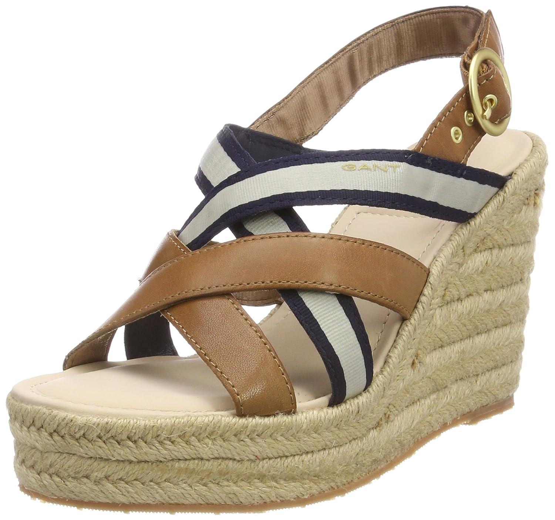 Gant Jenny, Zapatos de Tacón con Punta Abierta para Mujer