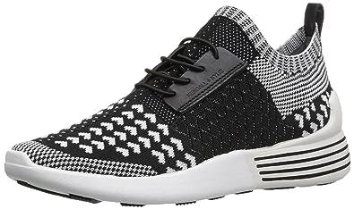 12bc17ff1 Amazon.com: KENDALL + KYLIE Women's Brandy Sneaker, Black/White, 10 ...