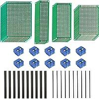 LAITER PCB Board Prototipo doble cara Tiras de placa pruebas Millefori Placa de circuito impreso Arduino Millefori…