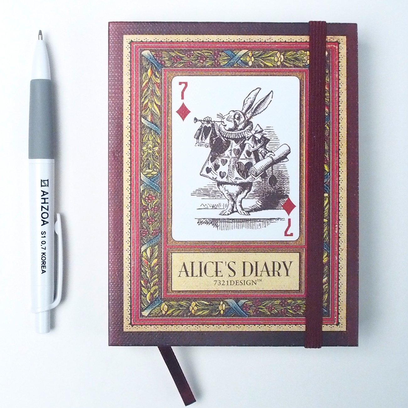 Amazon.com : Alices Diary with AHZOA Pencil, Undated ...
