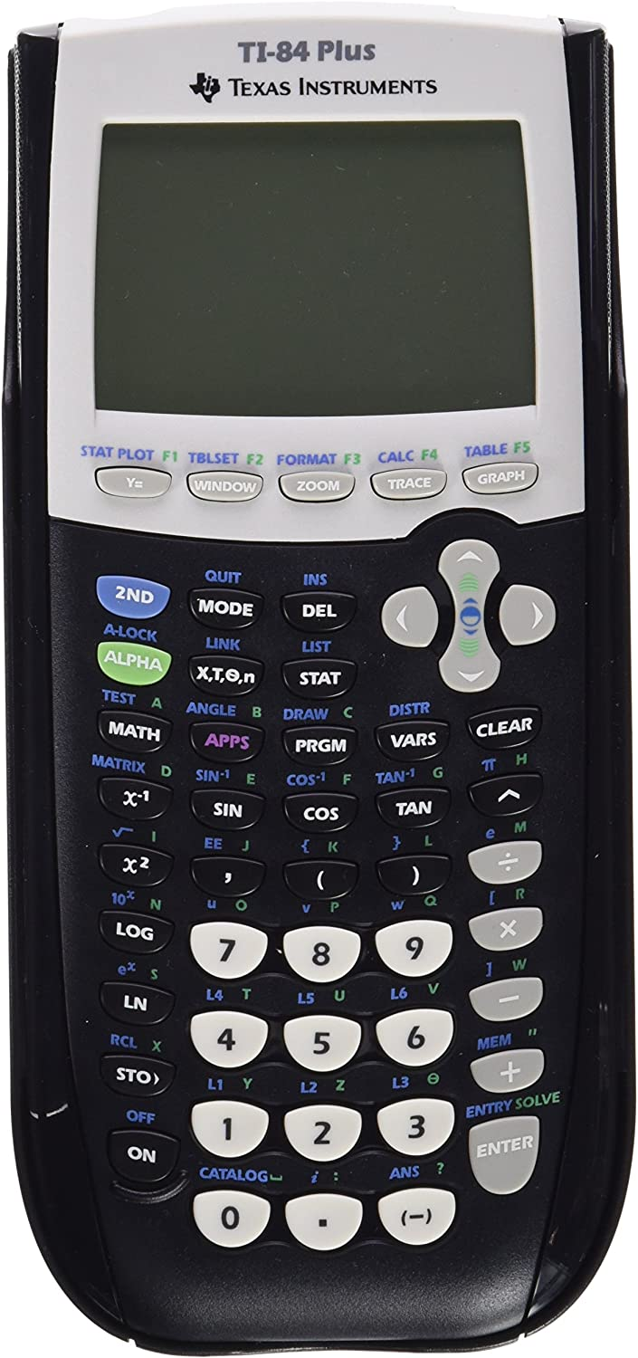 B0006I0AD8 TEXTI84PLUS - Texas Instruments TI-84Plus Programmable Graphing Calculator 81thNWHYbWL.SL1500_