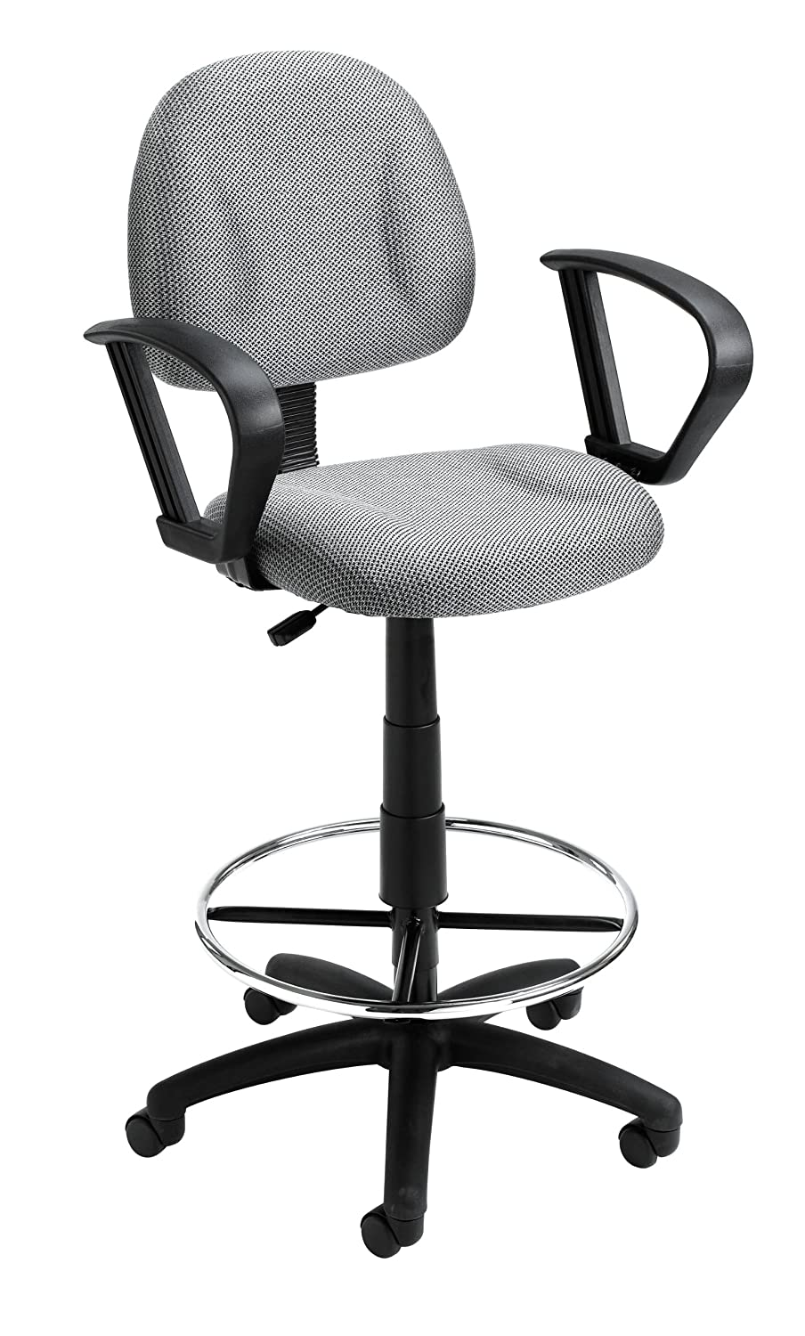 Beautiful Amazon.com: Boss Office Products B1617 GY Ergonomic Works Drafting Chair  With Loop Arms In Grey: Arts, Crafts U0026 Sewing