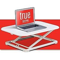 TRUE Seating - Mesa de Escritorio para Ordenador (68,5 cm, ergonómica, Ajustable, para el hogar, Oficina, portátil, para…