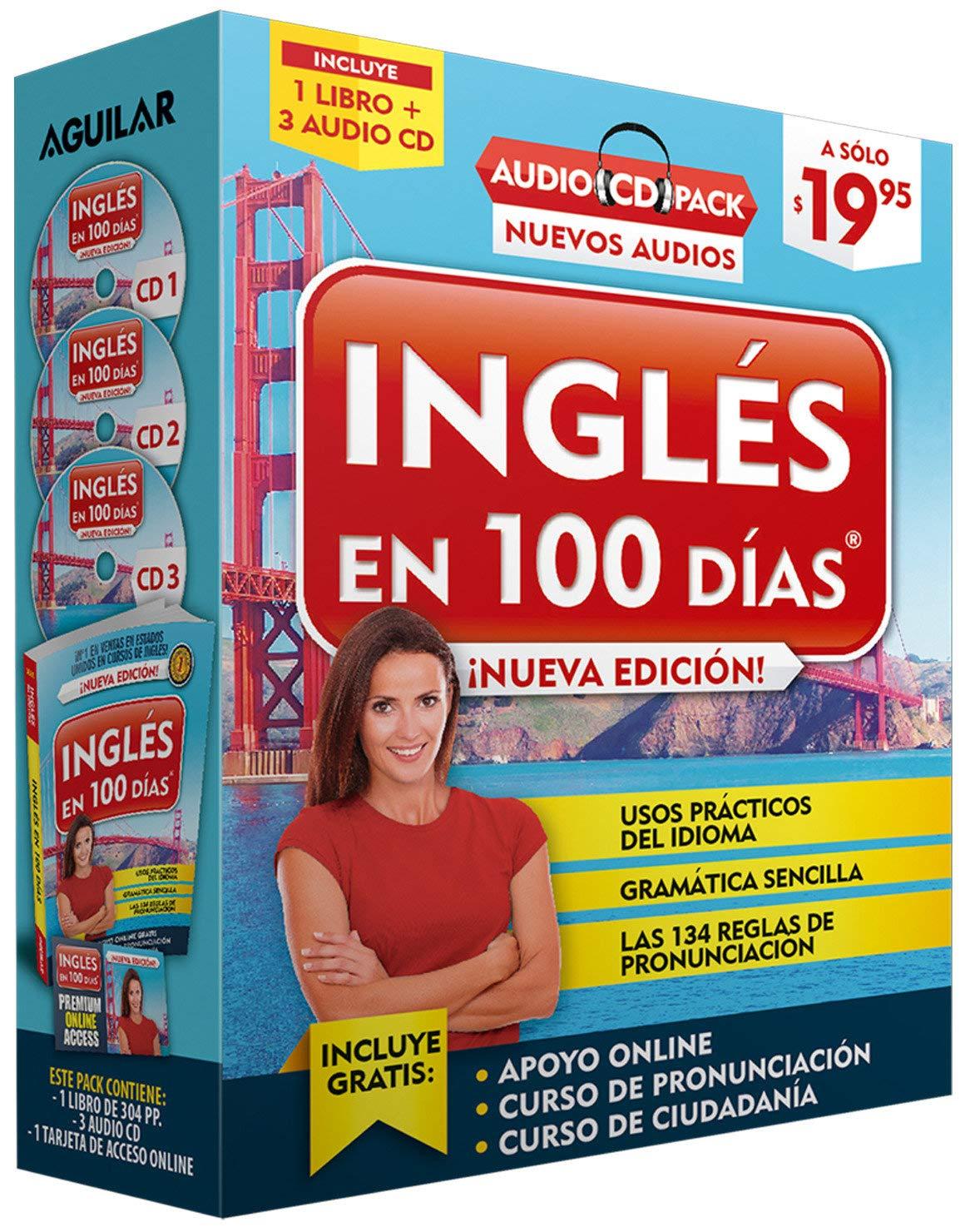 Ingles En 100 Dias Curso De Ingles Audio Pack Libro 3 Cd S Audio English In 100 Days Audio Pack Spanish Edition Ingles En 100 Dias 9781941999912 Amazon Com Books