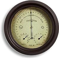Jardín al aire libre termómetro/higrómetro/barómetro 150mm 6inch