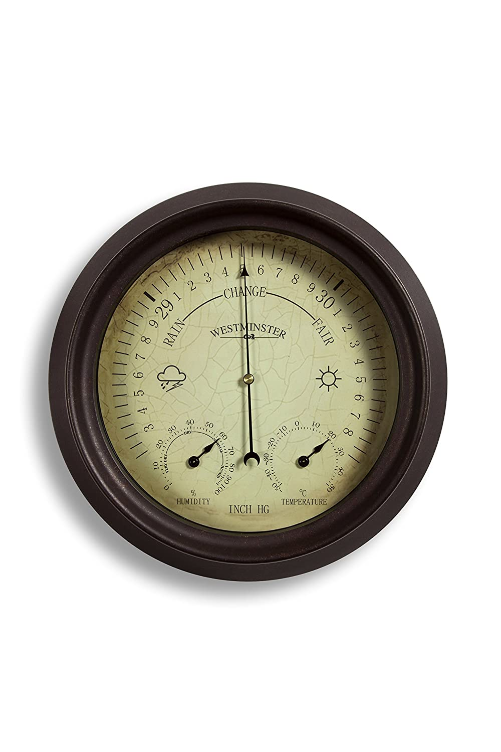 Garden outdoor Thermometer/Hygrometer/Barometer 150mm 6 inch Home and Garden Products Ltd
