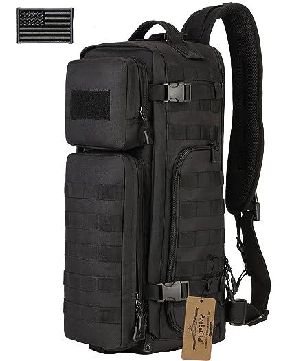 68d1fb568ab ArcEnCiel Tactical Sling Bag Pack Military Shoulder Backpack EDC Molle  Assault Range Bags Day Packs With
