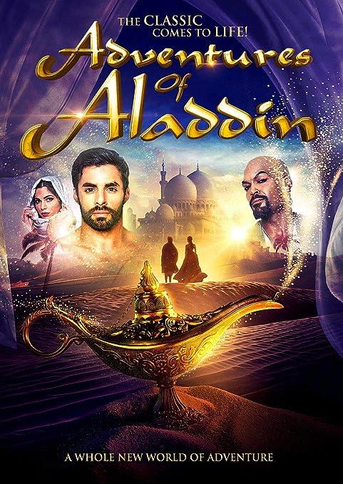 Lionbeen Adventures of Aladdin - Movie Poster - Cartel de la ...