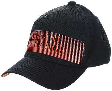 Armani Exchange Herren Baseball Cap 3D Logo Hat b7da3c2cea4