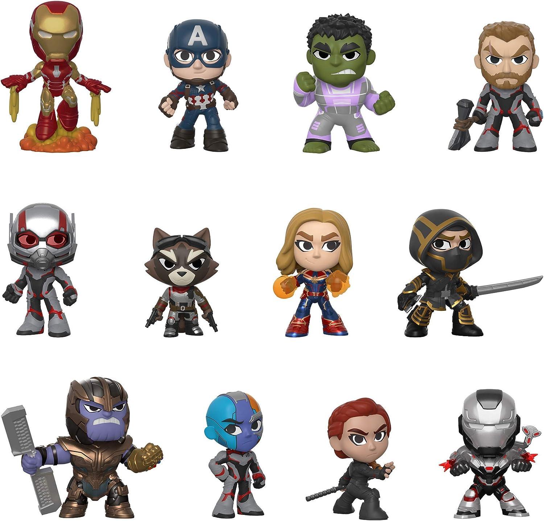 Funko- Mystery Mini Blind Box: Avengers Endgame: Styles Will Vary Marvel Vengadores Collectible figure, Multicolor, Estándar (37200) , color/modelo surtido: Amazon.es: Juguetes y juegos