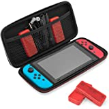 Travel & Storage Case for Nintendo Switch by TalkWorks | Durable Dual Zippers, Carrying Handle, Mesh Side Pocket Divider…
