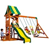 Amazon Com Backyard Discovery Montpelier All Cedar Wood Playset