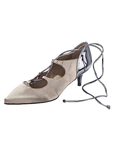 53e49322a769c0 Heine Kitten Heel Schnürpumps Damenschuhe GR 38  Amazon.de  Schuhe ...