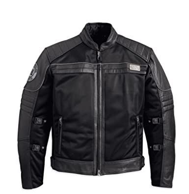 Harley Davidson Crossroads Mesh Jacket with Perf Leather