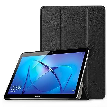 Nuovi Prodotti 8b2f0 d3ba1 MoKo Huawei MediaPad T3 10 Custodia Cover - Ultra Sottile Leggero Supporto  Tri-Fold Smart Case Cover Protettiva per Huawei MediaPad T3 10 9.6 Tablet  ...