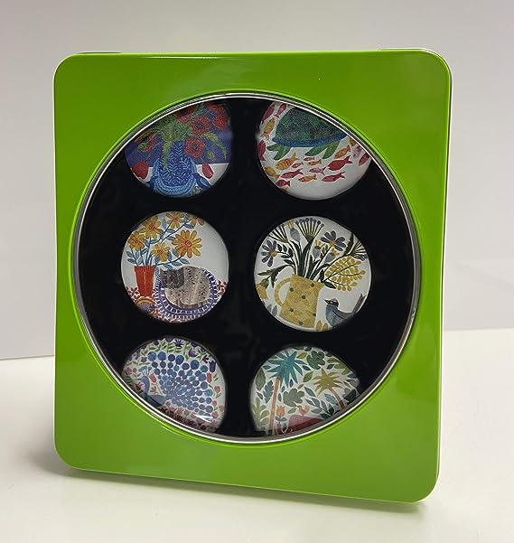 Pesi per cartamodello per sartoria Ideale come regalo Diametro: 40 mm. dellartista Tracey inglese set da 6 Set regalo da 6 pezzi Ispirato alla BBC Sewing Bee