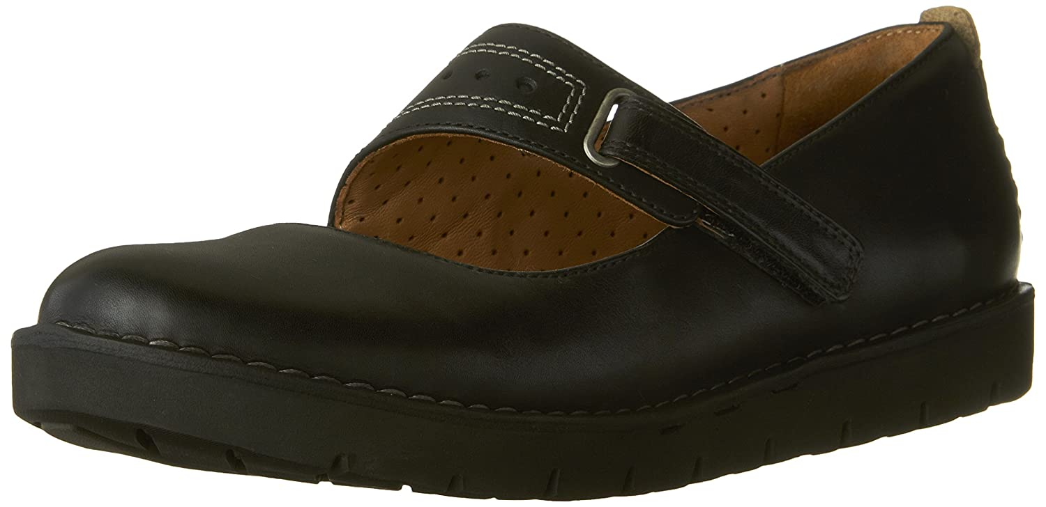 CLARKS Women's Un.Briarcrest Flats Shoes B01HO66CLI 9 B(M) US|Black Leather