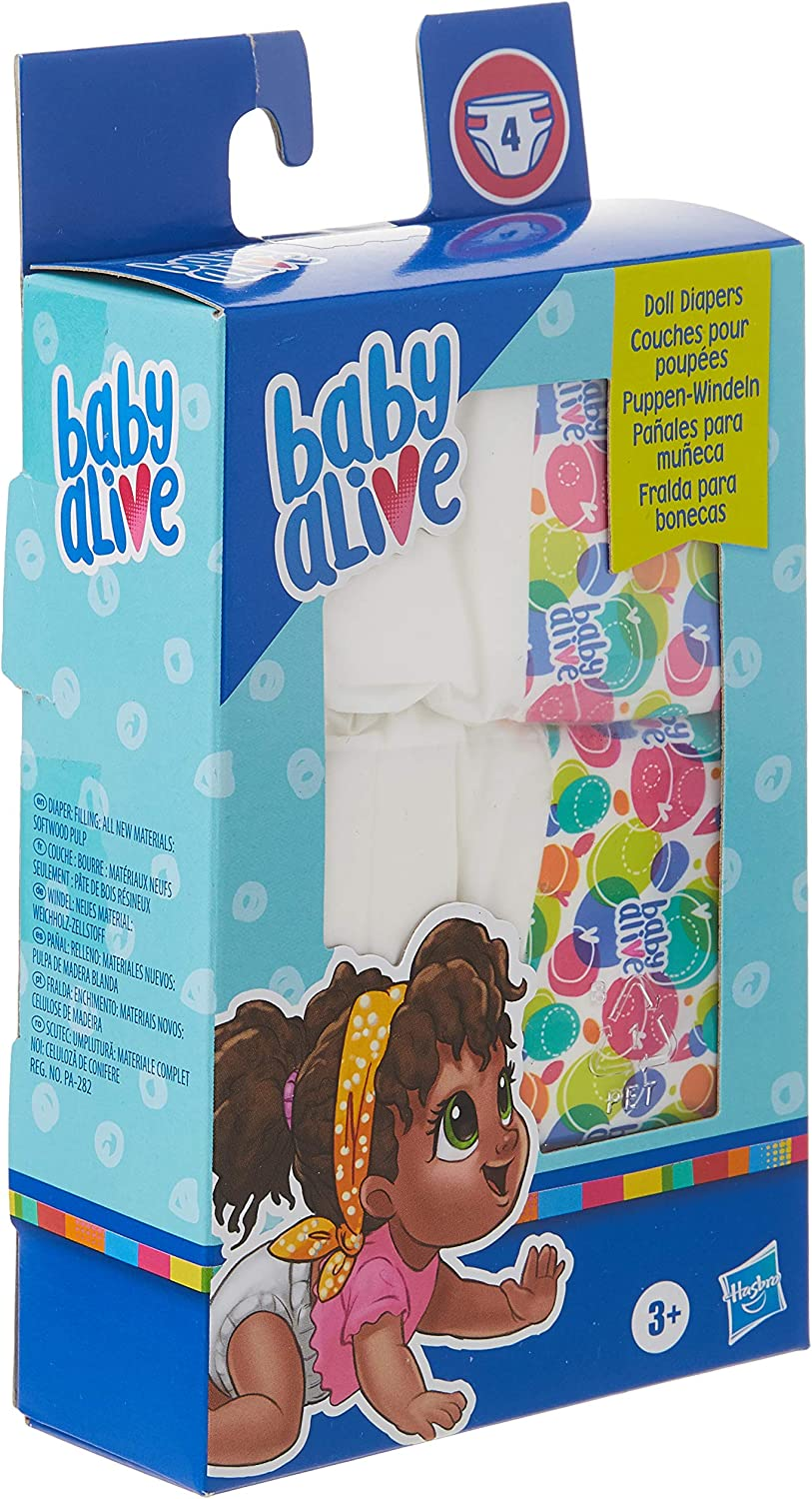 Waterproof Diaper for Baby Alive Reusable Baby Alive Diapers Doll Clothes 1 MEDIUM Reusable Doll Diapers Many Colors