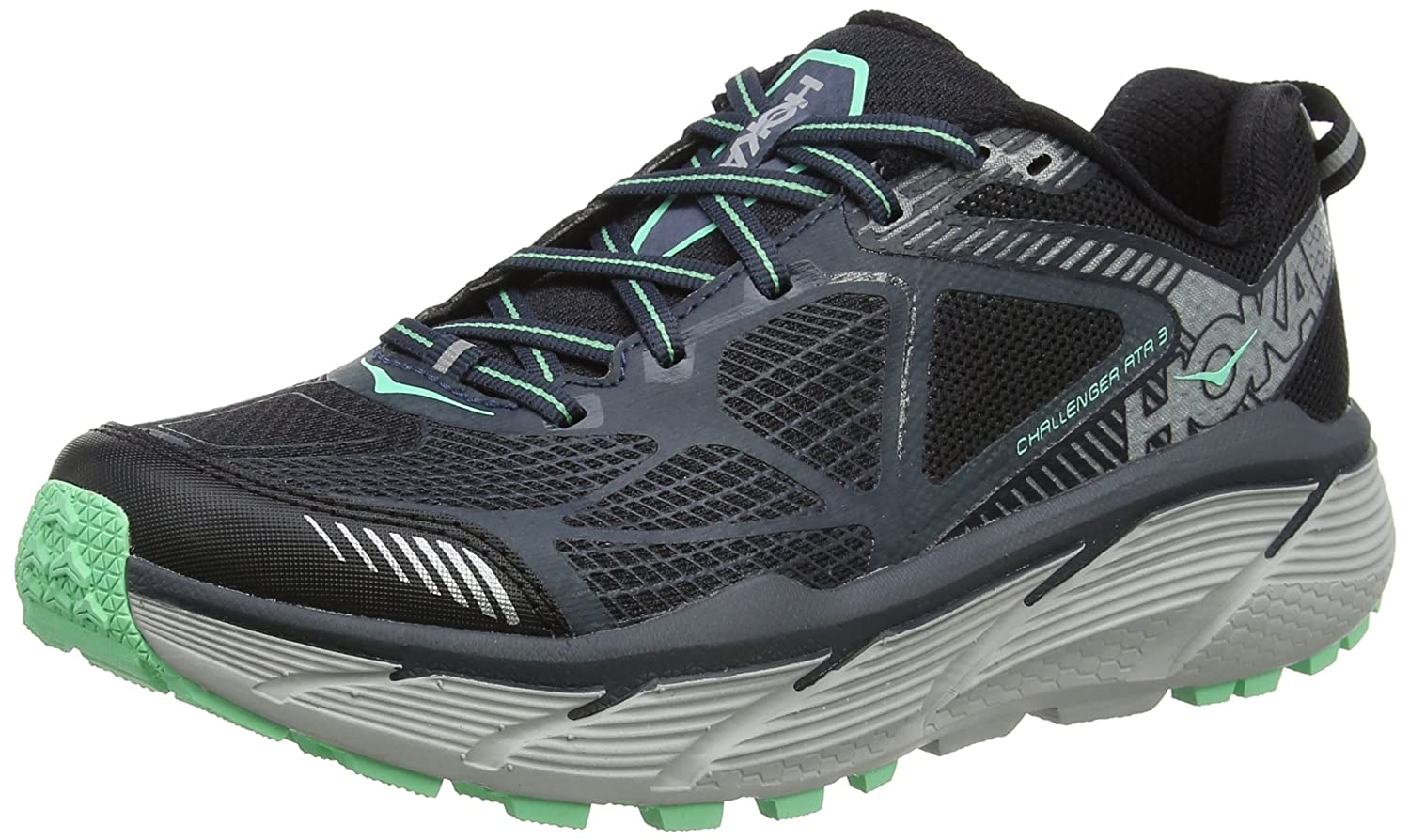 HOKA ONE ONE Women's Challenger ATR 3 Shoe B01H6A7FJK 8.5 B(M) US|Midnight Navy